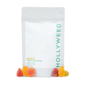 Delta 8 Hollyweed Gummies 750mg spilled over